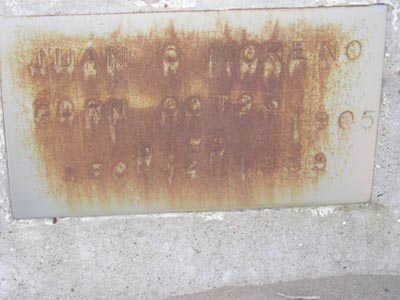 MORENO, JUAN O - Yuma County, Arizona   JUAN O MORENO - Arizona Gravestone Photos