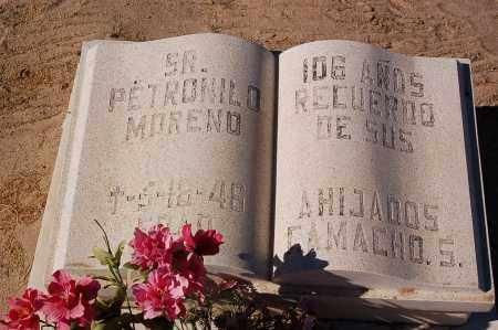 MORENO, PETRONILO - Yuma County, Arizona | PETRONILO MORENO - Arizona Gravestone Photos