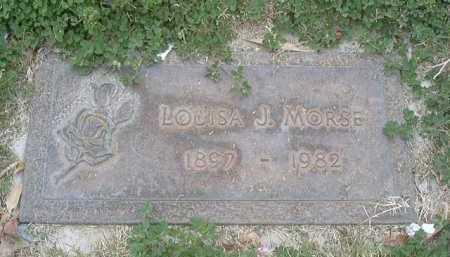 JOHNSON MORSE, LOUISA J. - Yuma County, Arizona | LOUISA J. JOHNSON MORSE - Arizona Gravestone Photos