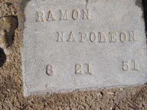 NAPOLEON, RAMON - Yuma County, Arizona | RAMON NAPOLEON - Arizona Gravestone Photos