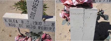 OLEA, DOLORES V - Yuma County, Arizona   DOLORES V OLEA - Arizona Gravestone Photos