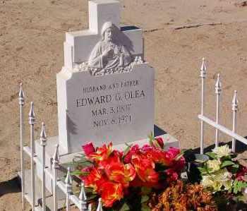 OLEA, EDWARD - Yuma County, Arizona | EDWARD OLEA - Arizona Gravestone Photos
