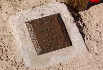 OLEA, FRANK - Yuma County, Arizona | FRANK OLEA - Arizona Gravestone Photos