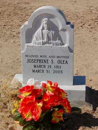 SORTILLON OLEA, JOSEPHINE - Yuma County, Arizona | JOSEPHINE SORTILLON OLEA - Arizona Gravestone Photos