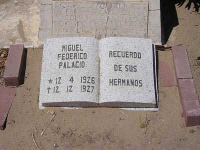 PALACIO, MIGUEL FEDRICO - Yuma County, Arizona | MIGUEL FEDRICO PALACIO - Arizona Gravestone Photos