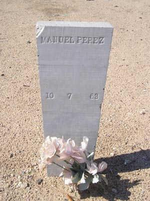 PEREZ, MANUEL - Yuma County, Arizona   MANUEL PEREZ - Arizona Gravestone Photos