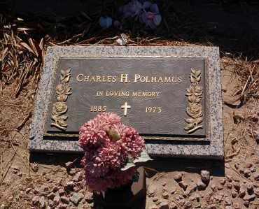 POLHAMUS, CHARLES H. - Yuma County, Arizona | CHARLES H. POLHAMUS - Arizona Gravestone Photos