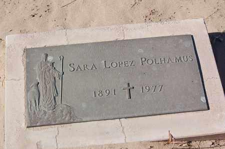 POLHAMUS, SARA - Yuma County, Arizona   SARA POLHAMUS - Arizona Gravestone Photos