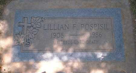 POSPISIL, LILLIAN F. - Yuma County, Arizona | LILLIAN F. POSPISIL - Arizona Gravestone Photos