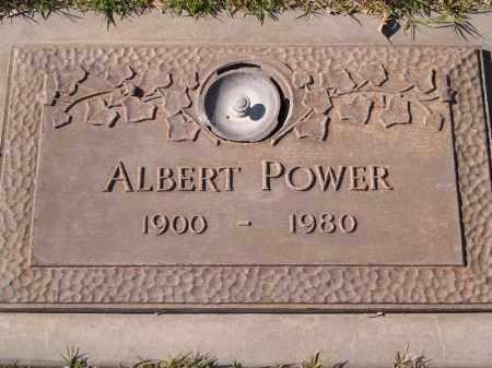 POWER, ALBERT - Yuma County, Arizona | ALBERT POWER - Arizona Gravestone Photos