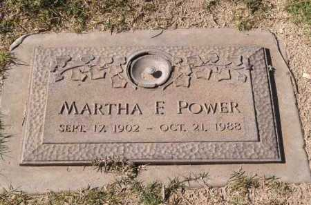 FISHER POWER, MARTHA - Yuma County, Arizona | MARTHA FISHER POWER - Arizona Gravestone Photos