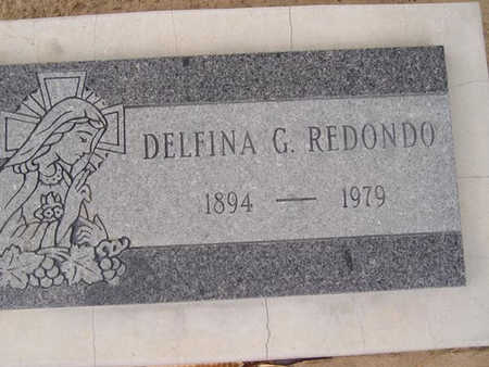 REDONDO, DELFINA  G. - Yuma County, Arizona | DELFINA  G. REDONDO - Arizona Gravestone Photos