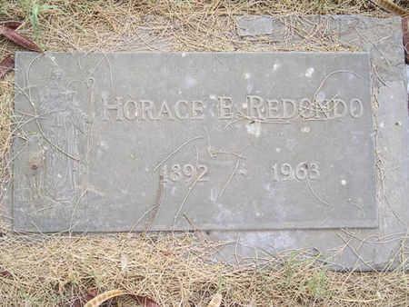 REDONDO, HORACE E. - Yuma County, Arizona | HORACE E. REDONDO - Arizona Gravestone Photos