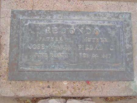 REDONDO, JOSE MARIA - Yuma County, Arizona | JOSE MARIA REDONDO - Arizona Gravestone Photos