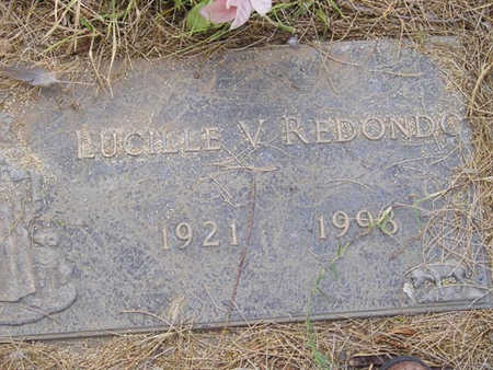 REDONDO, LUCILLE V - Yuma County, Arizona   LUCILLE V REDONDO - Arizona Gravestone Photos
