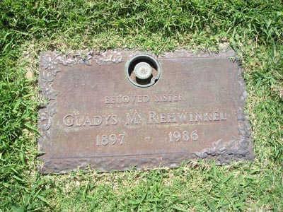 REHWINKEL, GLADYS M - Yuma County, Arizona | GLADYS M REHWINKEL - Arizona Gravestone Photos