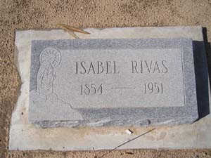 RIVAS, ISABEL - Yuma County, Arizona | ISABEL RIVAS - Arizona Gravestone Photos