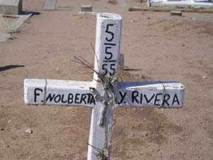 RIVERA, F. NOLBERTA Y - Yuma County, Arizona | F. NOLBERTA Y RIVERA - Arizona Gravestone Photos