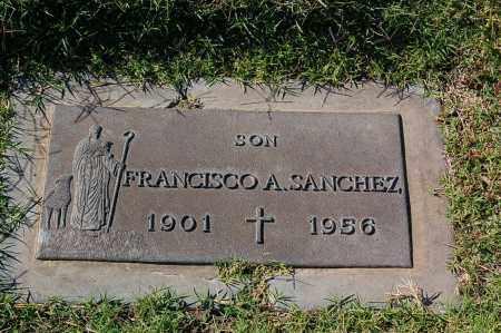 SANCHEZ, FRANCISCO A. - Yuma County, Arizona   FRANCISCO A. SANCHEZ - Arizona Gravestone Photos