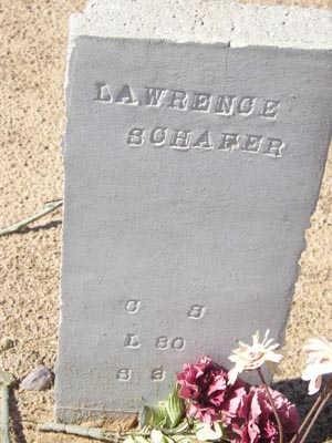 SCHAFER, LAWRENCE - Yuma County, Arizona | LAWRENCE SCHAFER - Arizona Gravestone Photos