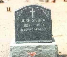 SIERRA, JOSE - Yuma County, Arizona | JOSE SIERRA - Arizona Gravestone Photos