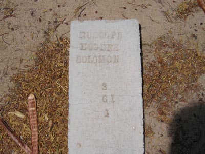 SOLOMON, RUDOLPH EUGENE - Yuma County, Arizona | RUDOLPH EUGENE SOLOMON - Arizona Gravestone Photos