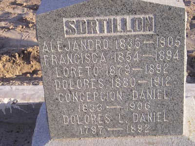 SORTILLON, LORETO - Yuma County, Arizona | LORETO SORTILLON - Arizona Gravestone Photos