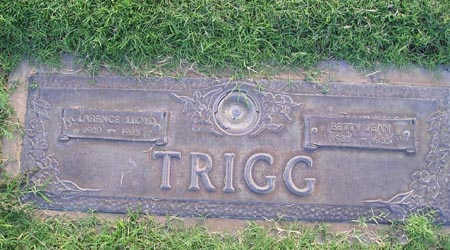 TRIGG,  CLARENCE LLOYD - Yuma County, Arizona |  CLARENCE LLOYD TRIGG - Arizona Gravestone Photos