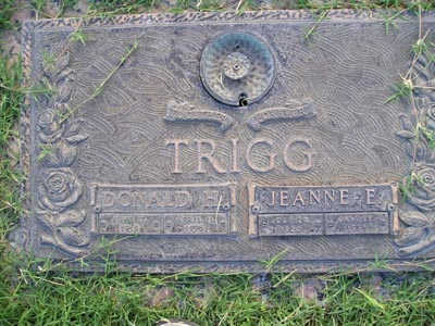 TRIGG, JEANNE E. - Yuma County, Arizona | JEANNE E. TRIGG - Arizona Gravestone Photos