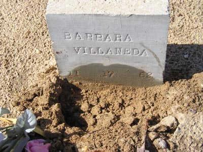 VILLANEDA, BARBARA - Yuma County, Arizona | BARBARA VILLANEDA - Arizona Gravestone Photos