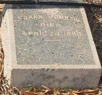 VOMECIL, FRANK - Yuma County, Arizona | FRANK VOMECIL - Arizona Gravestone Photos