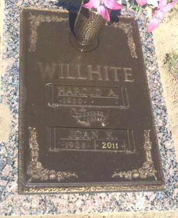 WILLHITE, JOAN KATHLEEN - Yuma County, Arizona | JOAN KATHLEEN WILLHITE - Arizona Gravestone Photos
