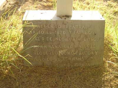 YBARRA, ALBERTO - Yuma County, Arizona | ALBERTO YBARRA - Arizona Gravestone Photos