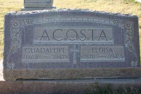 ACOSTA, GUADALUPE H. - Pima County, Arizona | GUADALUPE H. ACOSTA - Arizona Gravestone Photos
