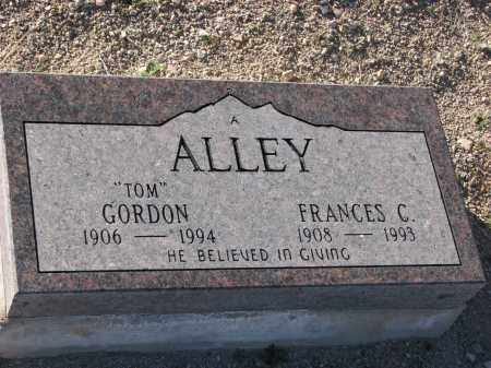 ALLEY, TOM - Pima County, Arizona | TOM ALLEY - Arizona Gravestone Photos