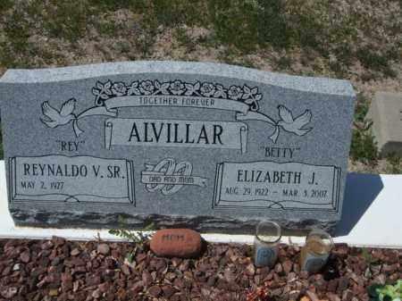 "ALVILLAR, ELIZABETH J. ""BETTY"" - Pima County, Arizona | ELIZABETH J. ""BETTY"" ALVILLAR - Arizona Gravestone Photos"
