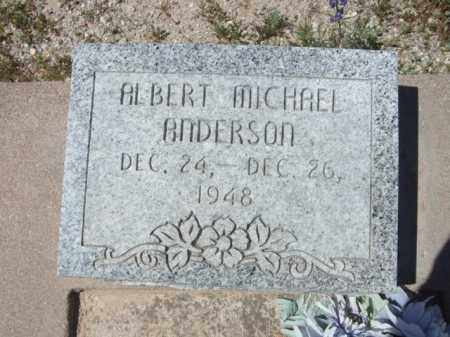 ANDERSON,, ALBERT MICHAEL - Pima County, Arizona | ALBERT MICHAEL ANDERSON, - Arizona Gravestone Photos