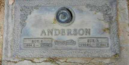 ANDERSON, ROY E. - Pima County, Arizona   ROY E. ANDERSON - Arizona Gravestone Photos