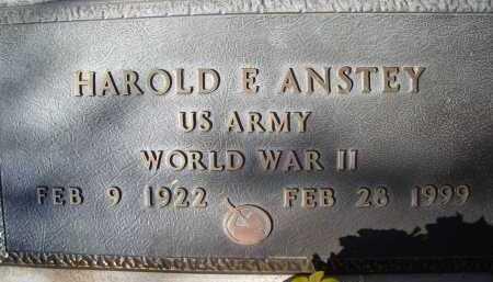 ANSTEY, HAROLD E. - Pima County, Arizona | HAROLD E. ANSTEY - Arizona Gravestone Photos