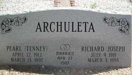 ARCHULETA, PEARL - Pima County, Arizona | PEARL ARCHULETA - Arizona Gravestone Photos