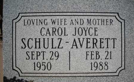 SCHULZ AVERETT, CAROL JOYCE - Pima County, Arizona | CAROL JOYCE SCHULZ AVERETT - Arizona Gravestone Photos