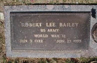 BAILEY, ROBERT LEE - Pima County, Arizona | ROBERT LEE BAILEY - Arizona Gravestone Photos