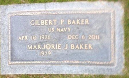 BAKER, GILBERT P - Pima County, Arizona | GILBERT P BAKER - Arizona Gravestone Photos