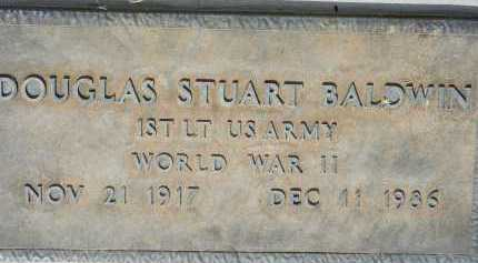 BALDWIN, DOUGLAS STUART - Pima County, Arizona | DOUGLAS STUART BALDWIN - Arizona Gravestone Photos
