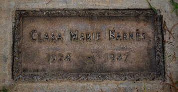 BARNES, CLARA MARIE - Pima County, Arizona | CLARA MARIE BARNES - Arizona Gravestone Photos