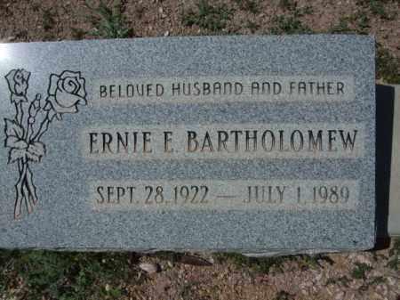 BARTHOLOMEW, ERNIE E. - Pima County, Arizona | ERNIE E. BARTHOLOMEW - Arizona Gravestone Photos