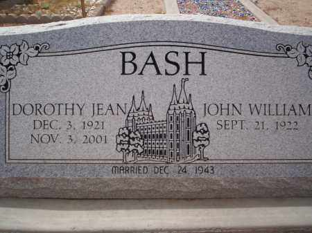 BASH, DOROTHY JEAN - Pima County, Arizona | DOROTHY JEAN BASH - Arizona Gravestone Photos