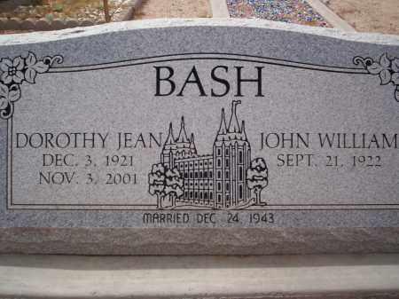 BASH, DOROTHY JEAN - Pima County, Arizona | DOROTHY JEAN BASH - Arizona Gravestone Photos