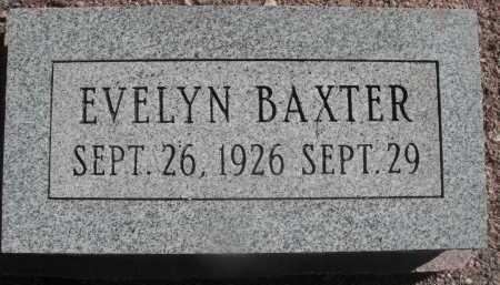 BAXTER, EVELYN - Pima County, Arizona | EVELYN BAXTER - Arizona Gravestone Photos
