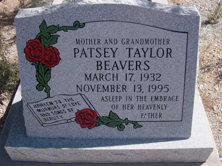 BEAVERS, PATSEY TAYLOR - Pima County, Arizona | PATSEY TAYLOR BEAVERS - Arizona Gravestone Photos